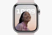 apple watch 7 transfert 605 ghz