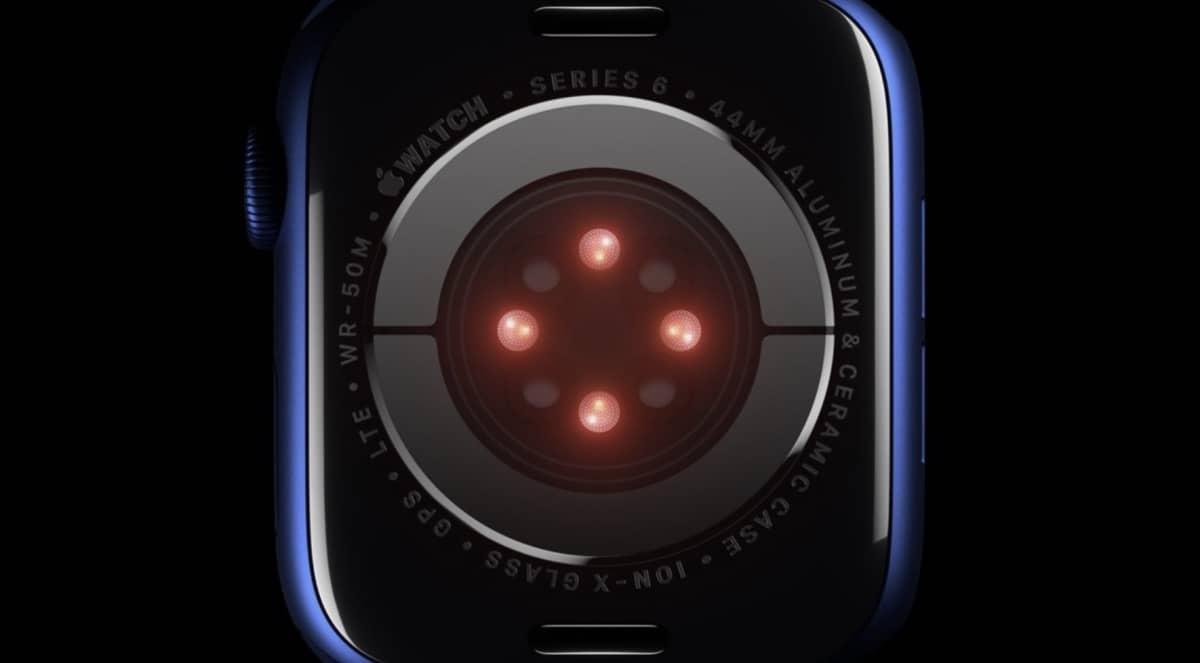 Apple Watch Series 6, le capteur Sp02 comparable aux instruments médicaux