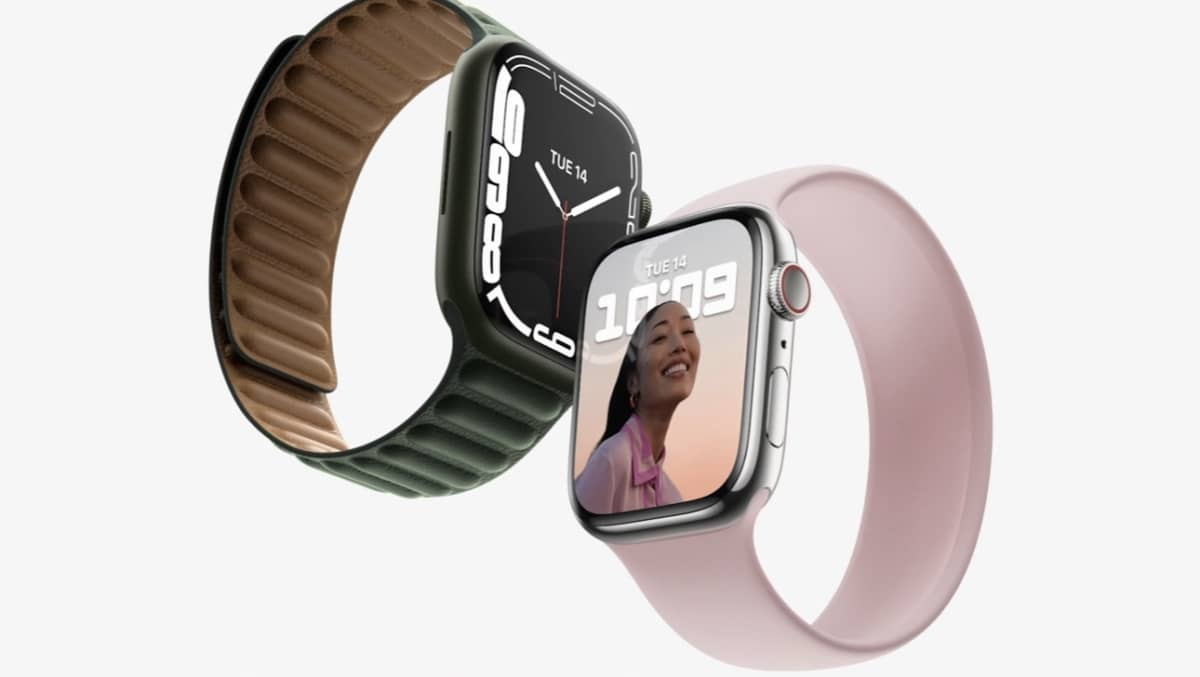 Apple Watch Series 7 : un écran plus grand et 70% plus lumineuse