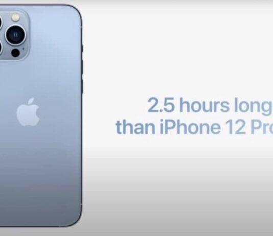 batterie iphone 13 test