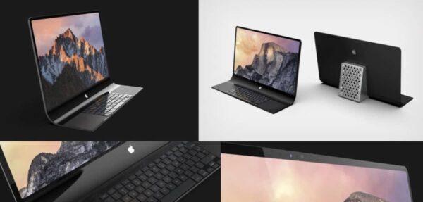 iMac verre, brevet Apple