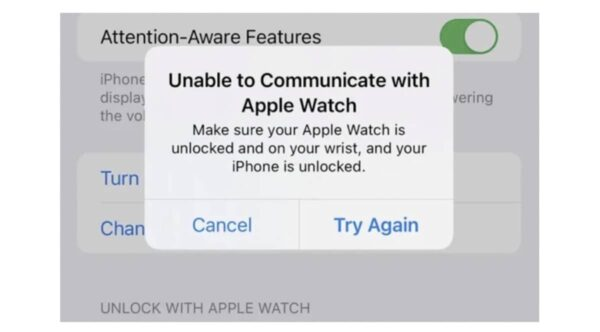 deverrouillage apple watch iphone 13