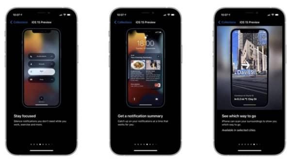 astuces iOS 15