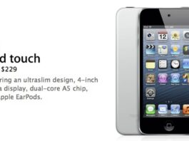 ipod touch 5 obsolete