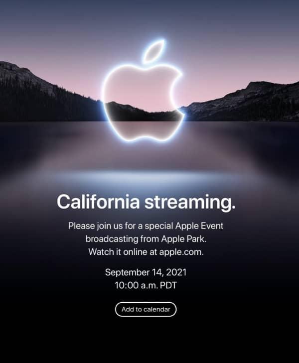 keynote iPhone 13, keynote Apple