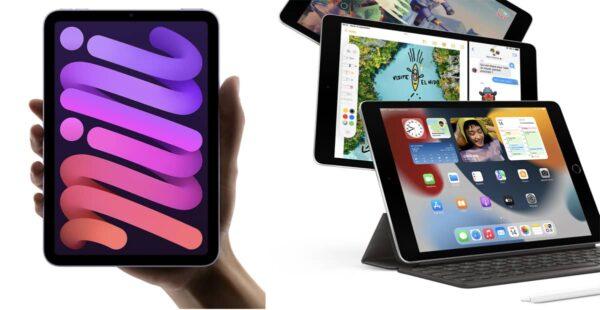 iPad mini 6, iPad 9, précommande iPad mini 6