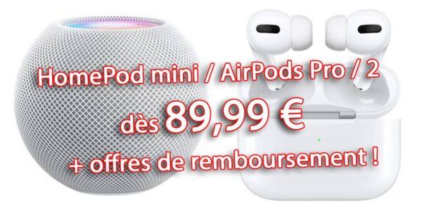 promo AirPods Pro, HomePod mini