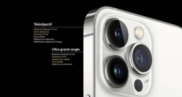 iPhone 13 Pro, iPhone 13 Pro, appareil photo