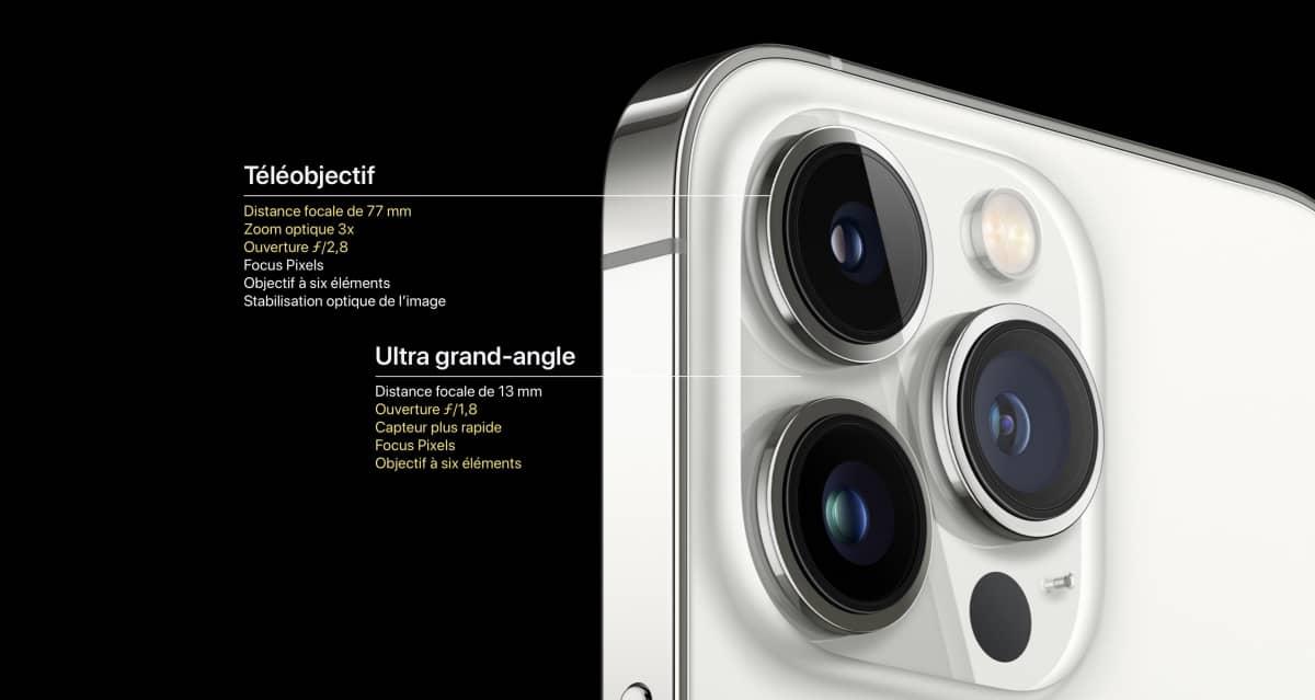 teleobjectif iphone 13 pro max