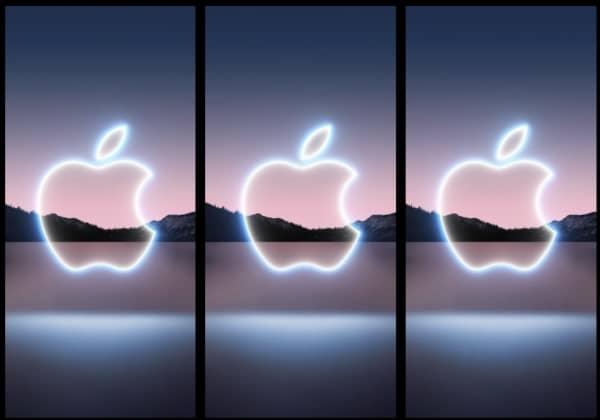 événement Apple, fonds d'écran