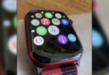 bug icones apple watch 7