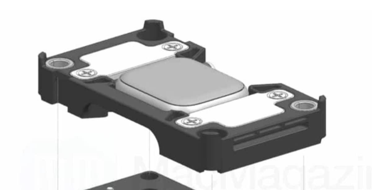 Voici le dock Apple pour le diagnostic de l'Apple Watch Series 7