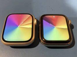 ecran apple watch series 7 vs series 6