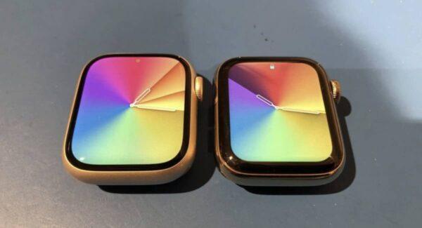taille écran, Apple Watch Series 7, Apple Watch Series 6