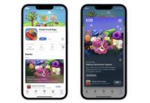 premiers evenements in app app store