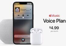 voice plan apple music